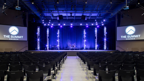 Summit Church With CHAUVET Professional