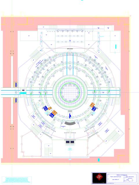 lighting plot for World of Dance