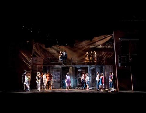 lighting design for West Side Story