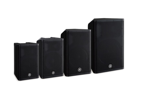 Yamaha DXRmkII powered loudspeakers