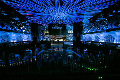 PixelFLEX at the Bond Nightclub inside Baha Mar