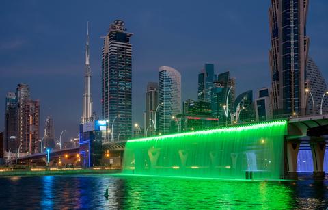 Dubai Water Canal 2016, Sheikh Zayed Bridge