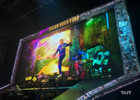 Elton John farewell brick road tour