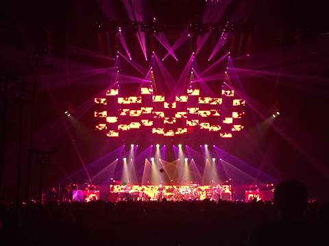 TAIT Automated LED Video Structure Phish