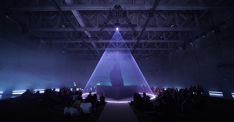 immersive installation Lux Prima sound system