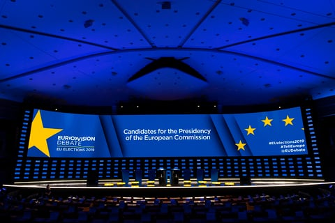 CHAUVET Professional Maverick MK3 Profile and Never Fear Shadows are Winners in European Election Debate
