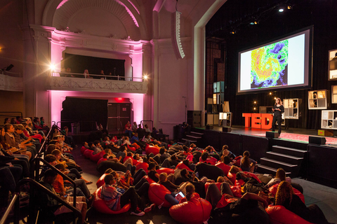 The thirdannual TEDYouth Conference held at the Civic Theatre in 2013