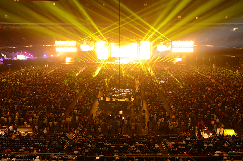 Mainstage of ESSENCE Festival 2013 at the MercedesBenz Superdome in New Orleans