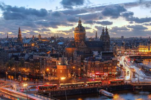 Amsterdam is on Savills top 10 hot list