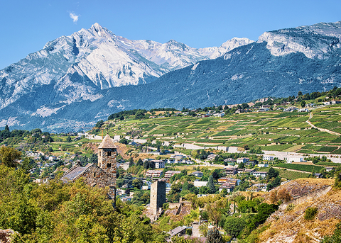 Sion Canton Velais Switzerland