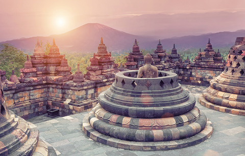 Borobudur Temple, Indonesia - vicnt/iStock/Getty Images Plus/Getty Images