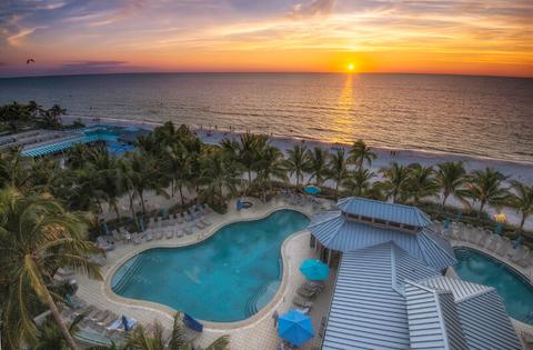 Pool at Naples Beach Hotel & Golf Club