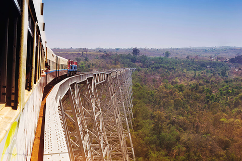 Goteik Viaduct, Myanmar