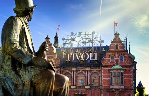 Tivoli Gardens, Copenhagen Denmark