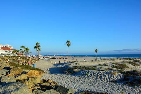 Coronado Beach, San Diego, California