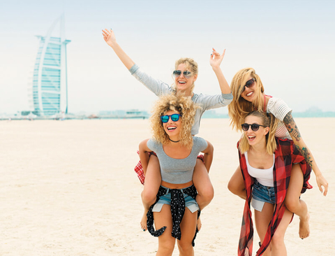"Dubai is ""fabulous for divorce parties and girlfriend getaways,"" says The Trip Trotter's Laura Hanaford."
