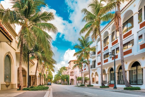 Worth Avenue A Ping And Dining District In Palm Beach Is Witnessing Ongoing Upgrades To Keep Guests Coming Back