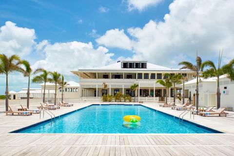 Mahogany Bay Resort & Beach Club - A view from the Bay Club