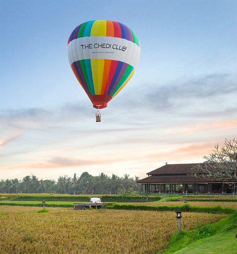The Chedi Club Tanah Gajah Ubud Launches Hot Air Balloon Rides