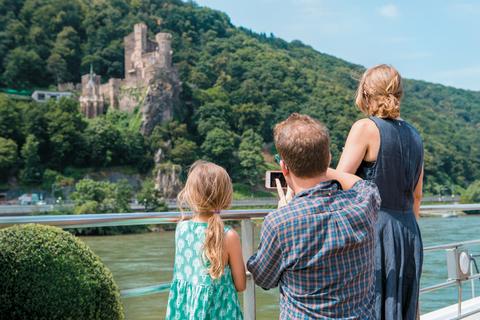 Uniworld Family Cruise Rhine Sundeck