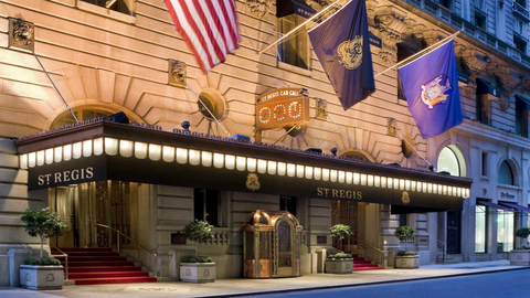 Starwood Hotels & Resorts may be in talks to sell off 19 hotels in 2018, including the St. Regis New York.