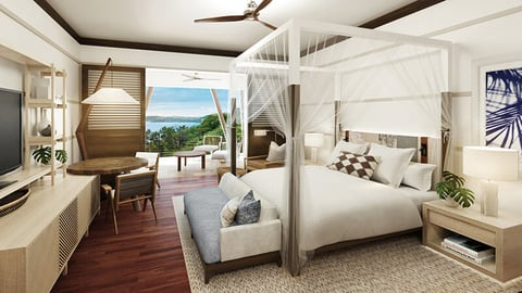 Four Seasons Costa Rica at Peninsula Papagayo guestroom renovation