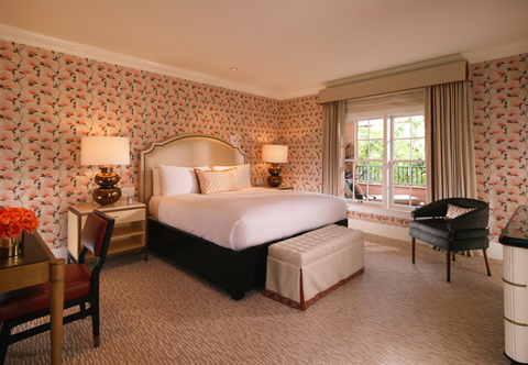 The Beverly Hills Hotel's Renovated Garden Suite