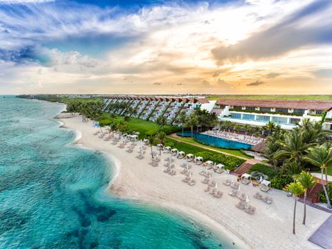 The beachfront at Grand Velas Riviera Maya