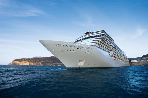 Seven Seas Explorer at sea