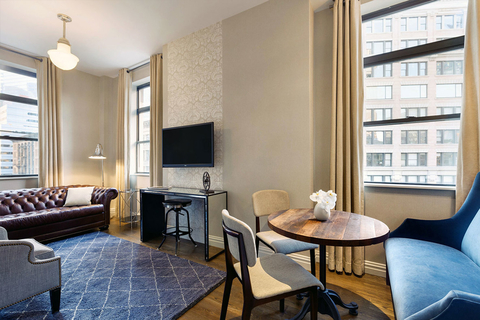The property 130 redesigned guestrooms, a new lobby and added a three-story Serafina Italian restaurant.