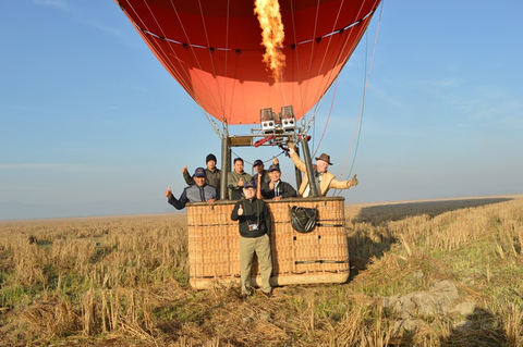 Balloons Over Bagan Launches New Hot-Air Balloon Flight in