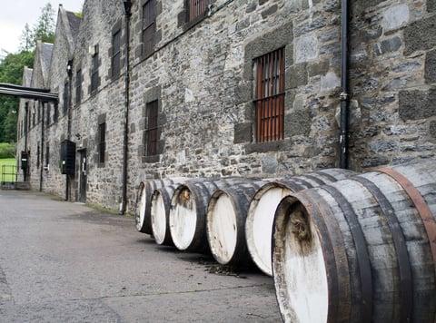 Spirits barrels