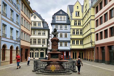 Germany Frankfurt Dom Roemer Quarter