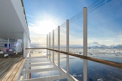 Hanseatic Inspiration Glass Balcony