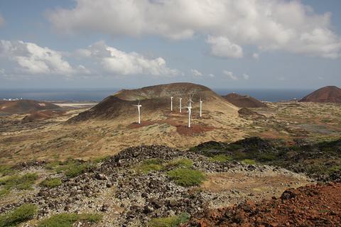 Saint Helena island