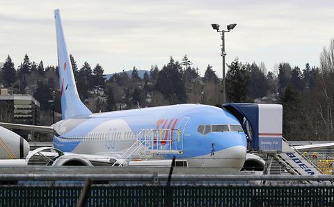 TUI Boeing 737 Max 8 Aircraft