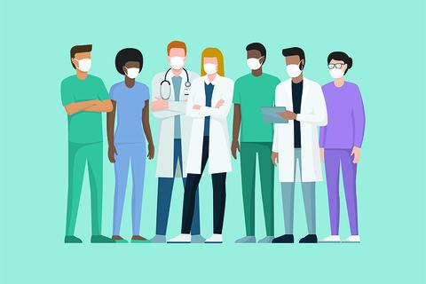 Healthcare workers - doctor - nurse