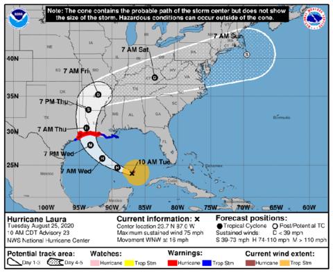 Hurricane Laura - National Hurricane Center