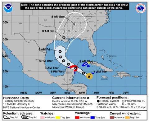 Hurricane Delta - National Hurricane Center