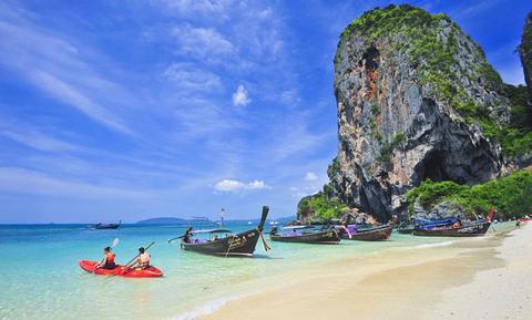 Hat Tham Phra Nang, Thailand