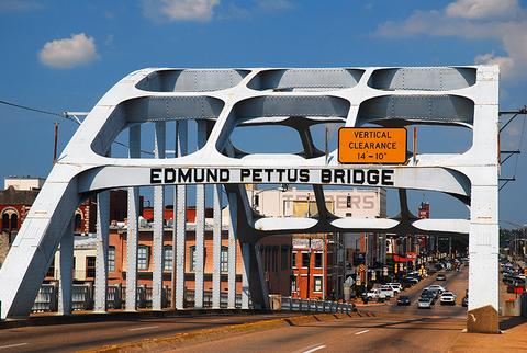 Edmund Pettus Bridge in Selma, Alabama