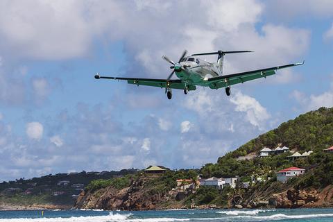 Tradewind Aviation flying into St. Barth's