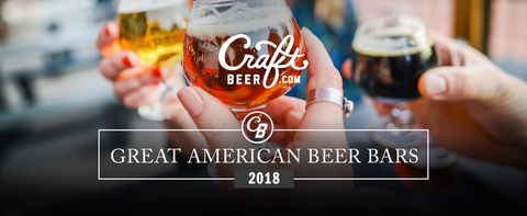 CraftBeer.com Great American Beer Bars 2018  header