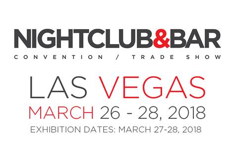 2018 Nightclub & Bar Show logo and dates