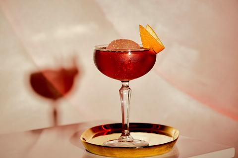 Fine & Rare Luxury Negroni Sbagliato cocktail
