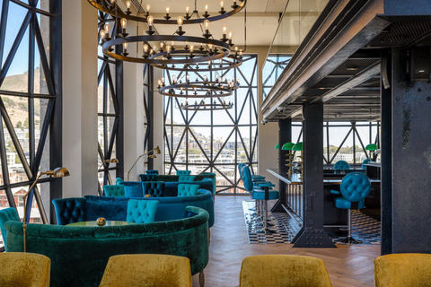 The Willaston Bar at The Silo Hotel in South Africa