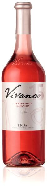 Vivanco Tempranillo Garnacha rose wine