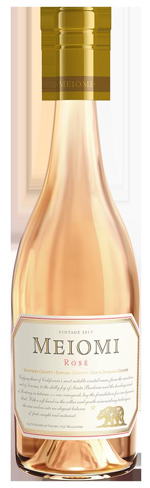 Meiomi Rosé wine