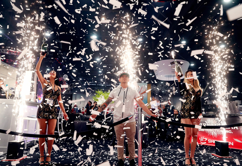 Cold sparks kick off NCB Show