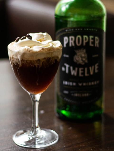 Proper No Twelve Irish Whiskey A Proper Coffee cocktail